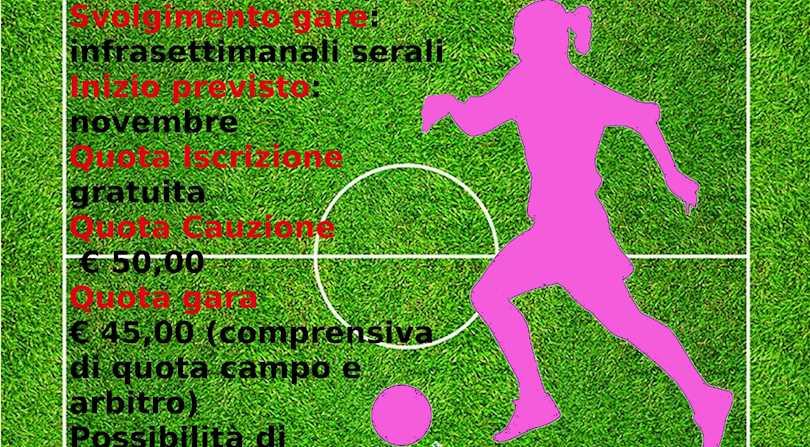 CAMPIONATO A 5 FEMMINILE